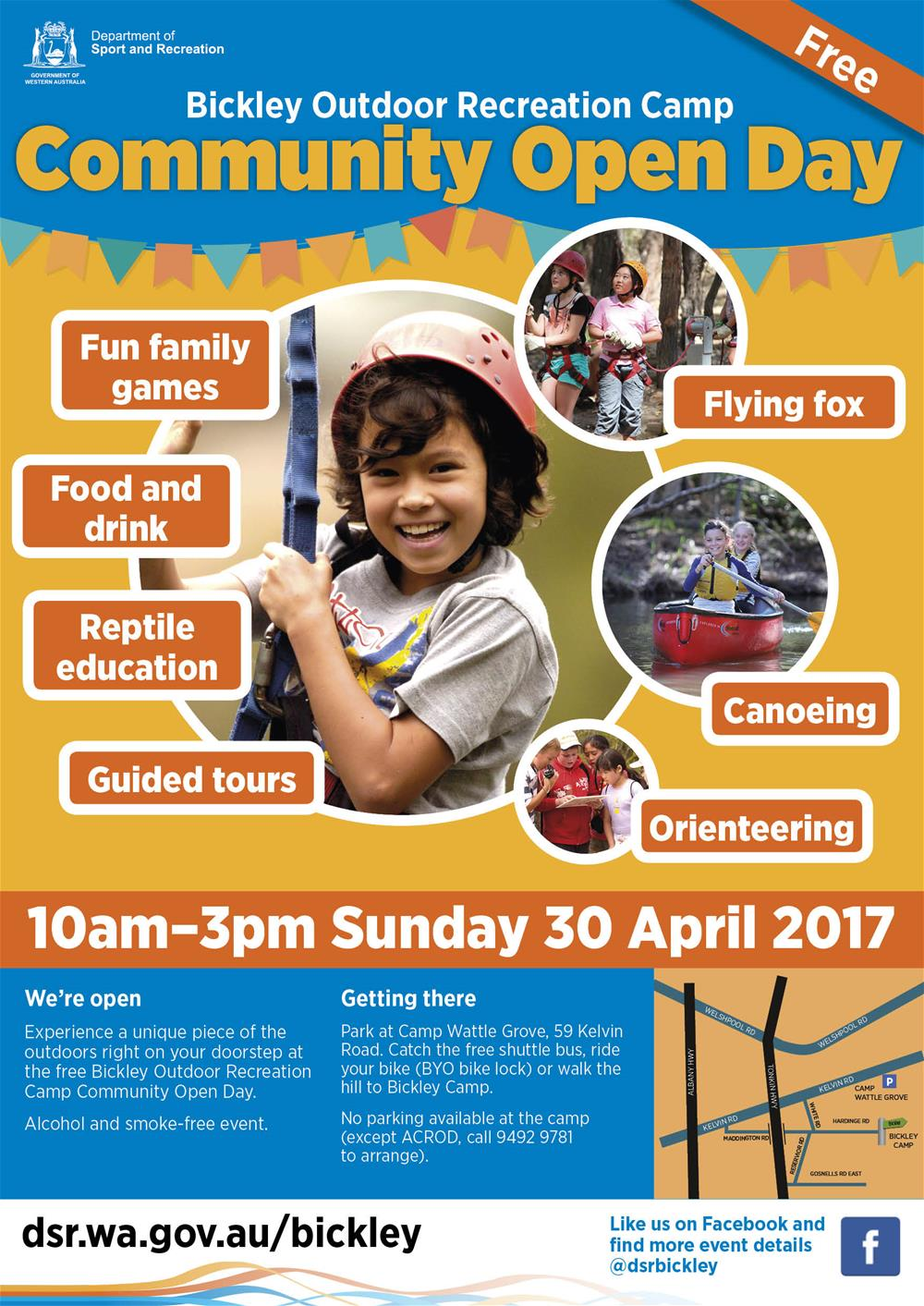 Bickley Outdoor Recreation Camp OPEN DAY